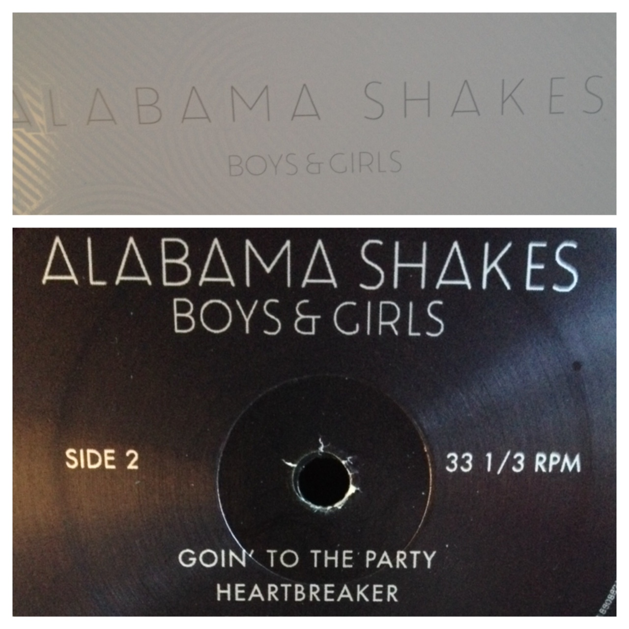 Alabama Shakes - Boys and Girls on Vinyl