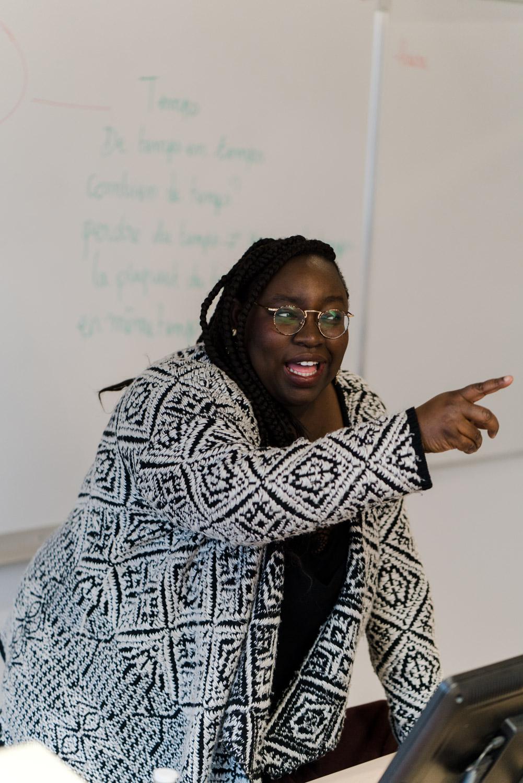Class with Mariame Camara