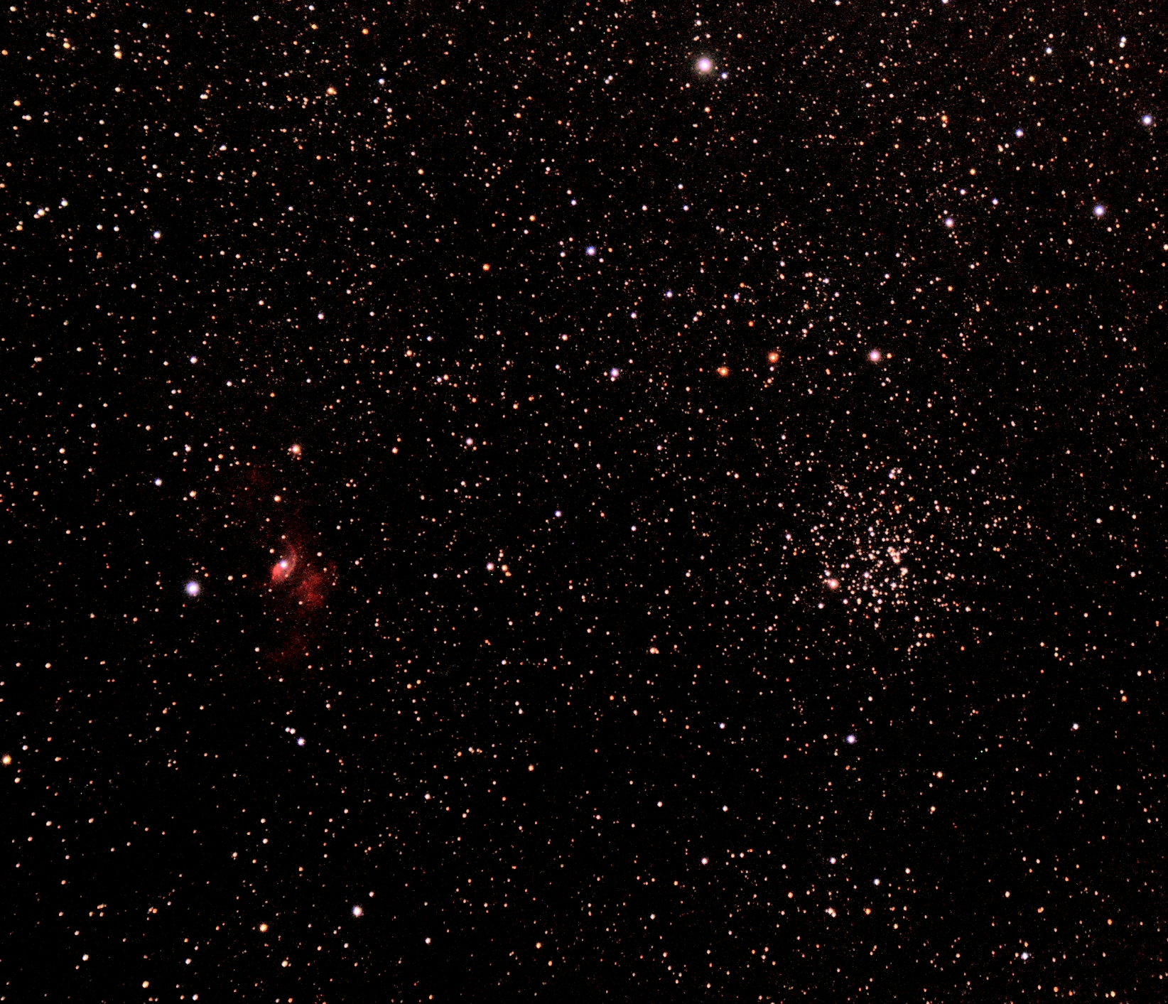 Bubble and M52