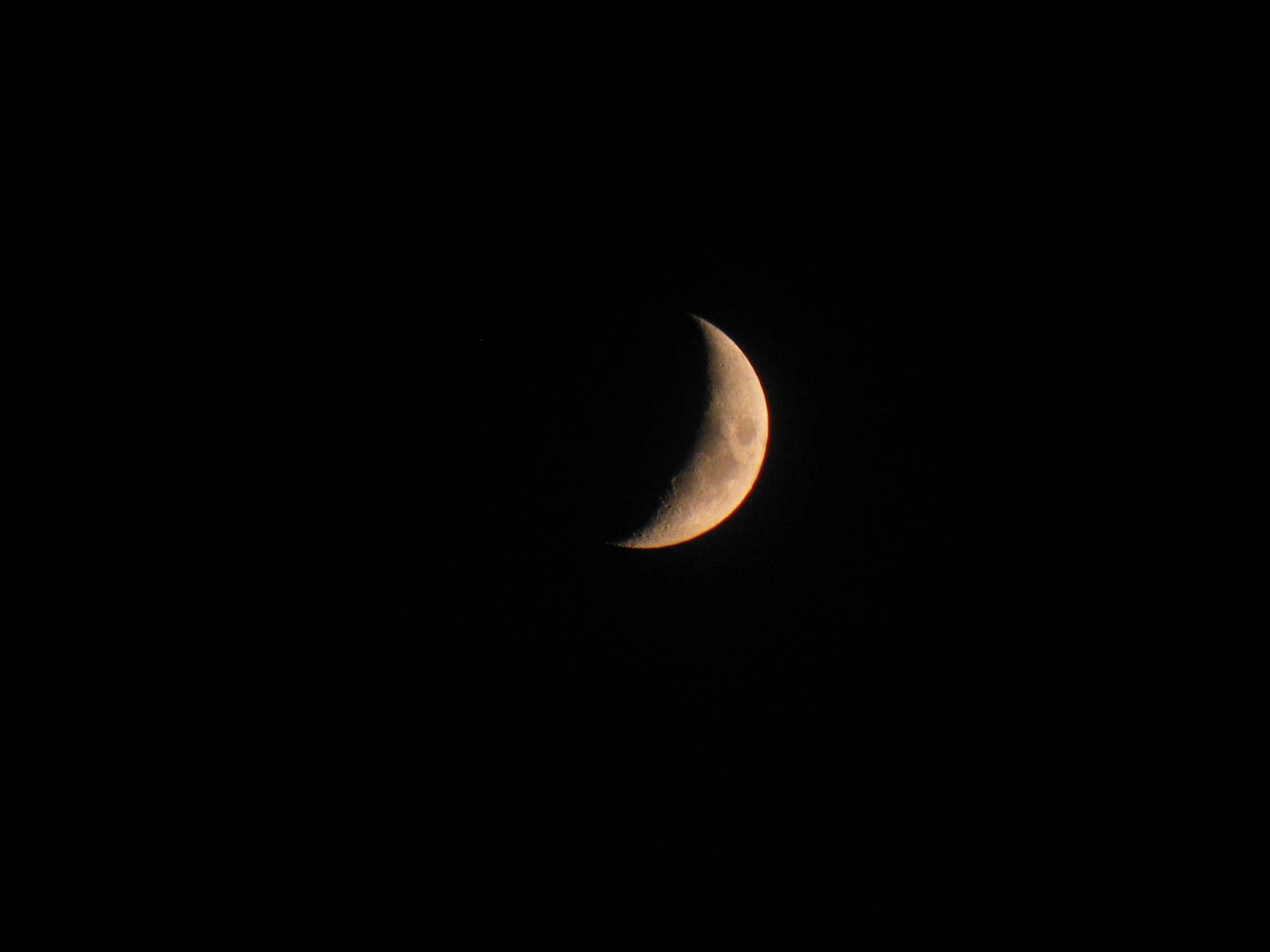 Moon (with binoculars)