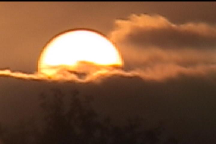 Refractive Sunset