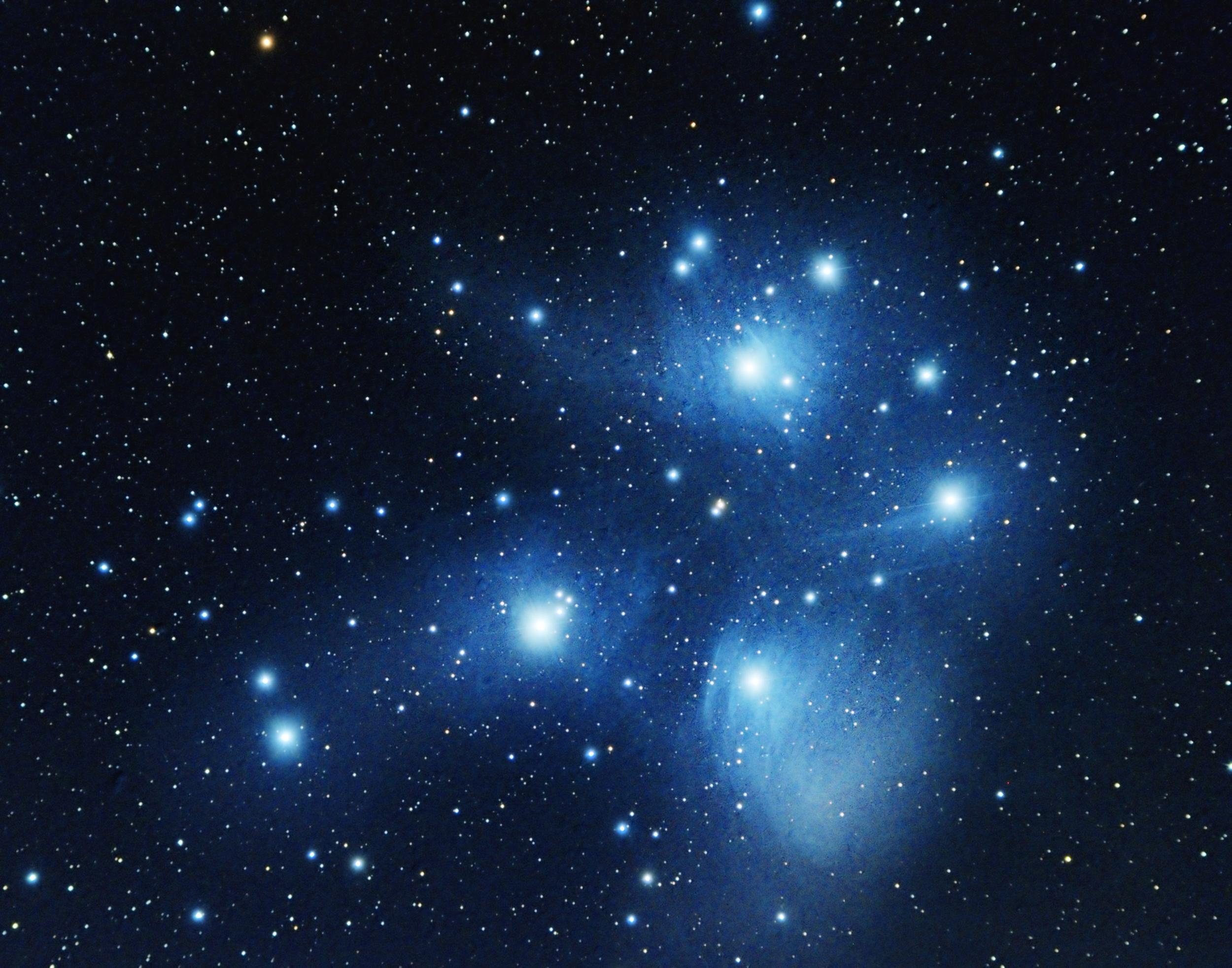 Pleiades aka Seven Sisters (M45)