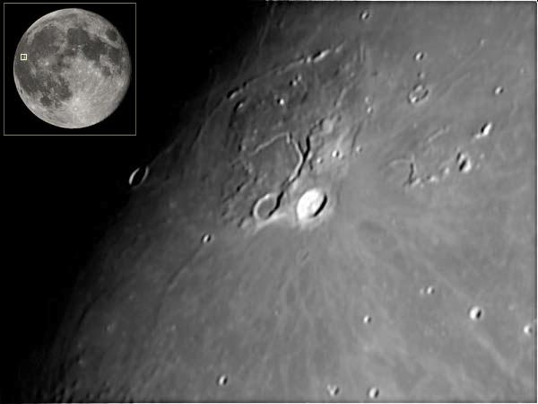 Moon Craters - Aristarchus