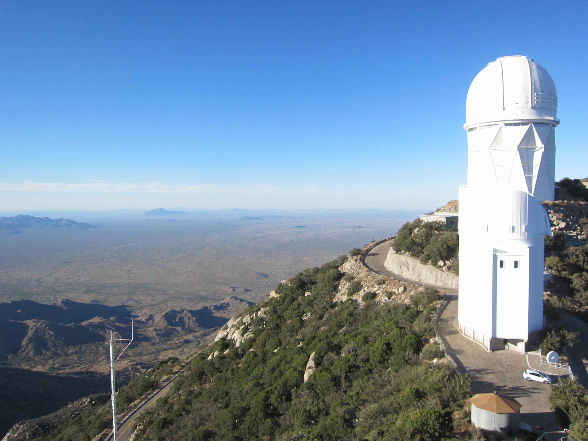 4m Telescope Atop Kitt Peak