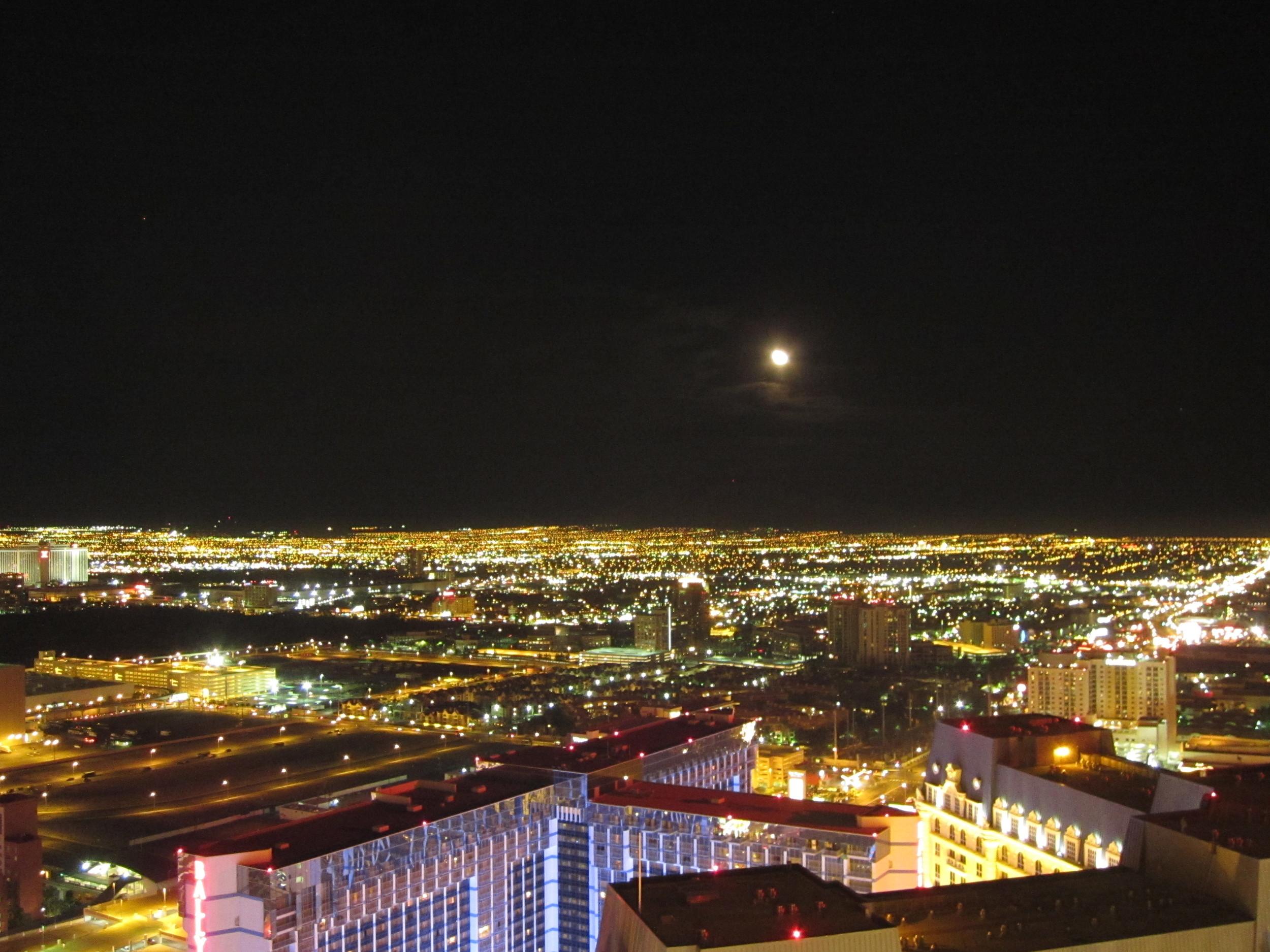 Moon Vegas Strip