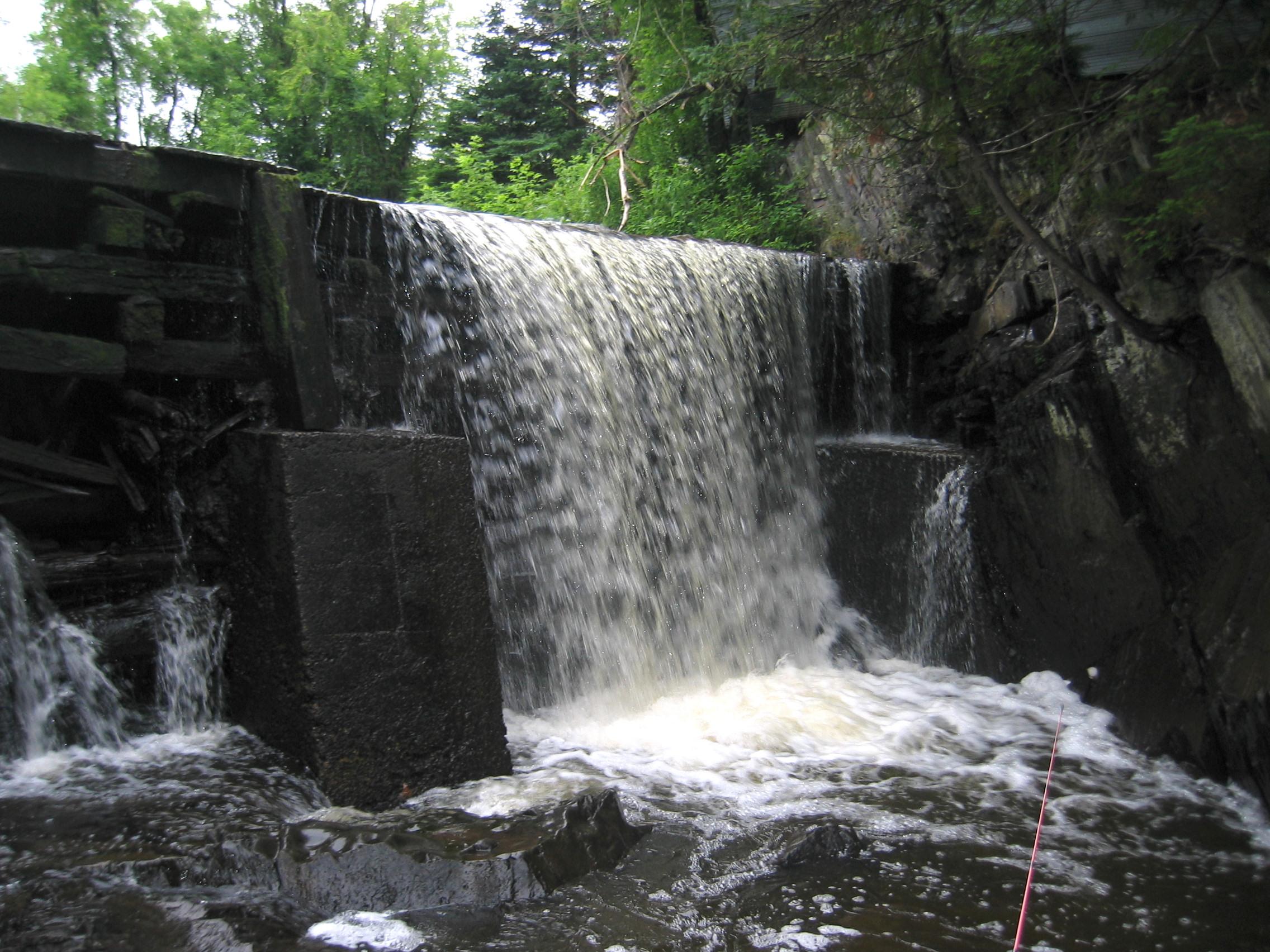 Waterfall in Fielding