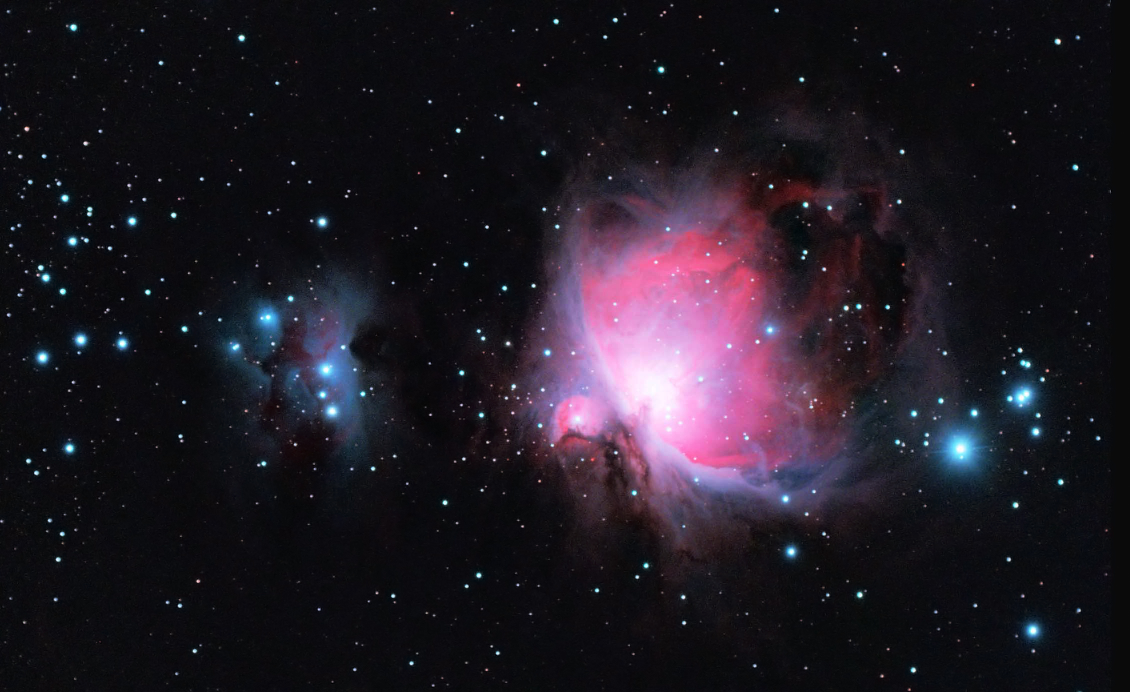 Orion & Running Man Nebua