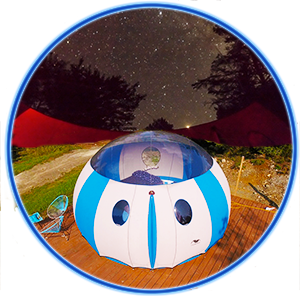 Sky Bubble - A night Under the stars, in comfort!