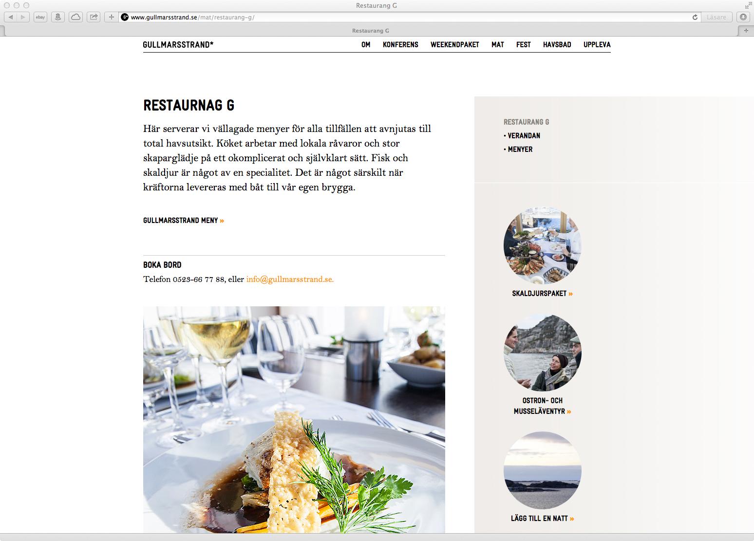 Undersida – Restaurang G