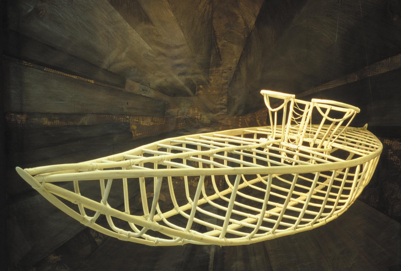 Corset-Kayak,  2000 [detail]