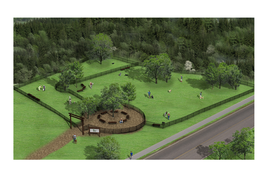 Dog Park   Rendering by General Idea   Beacon, NY