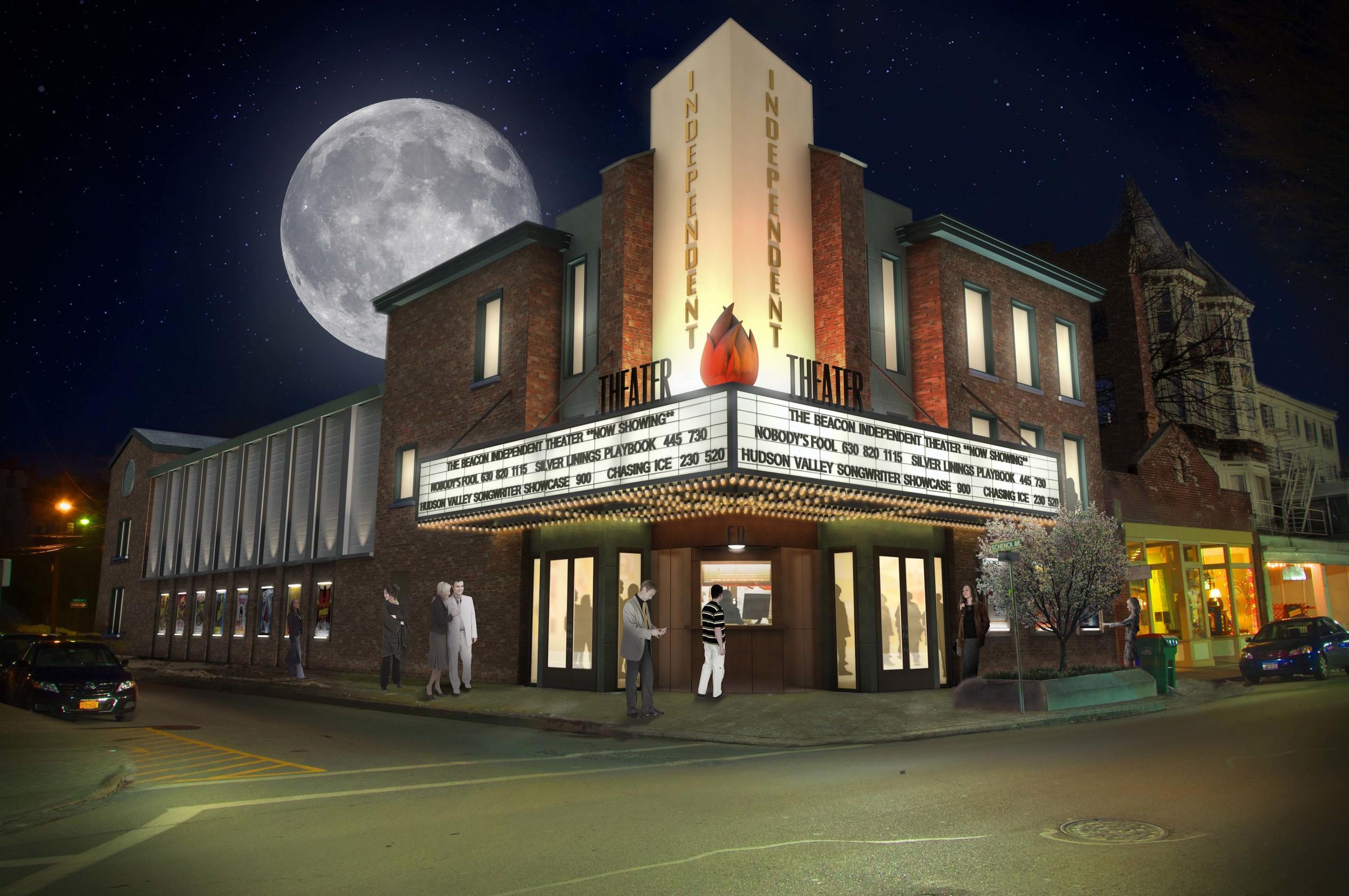 Cinema    Rendering by General Idea    Model by Ryerson Studio