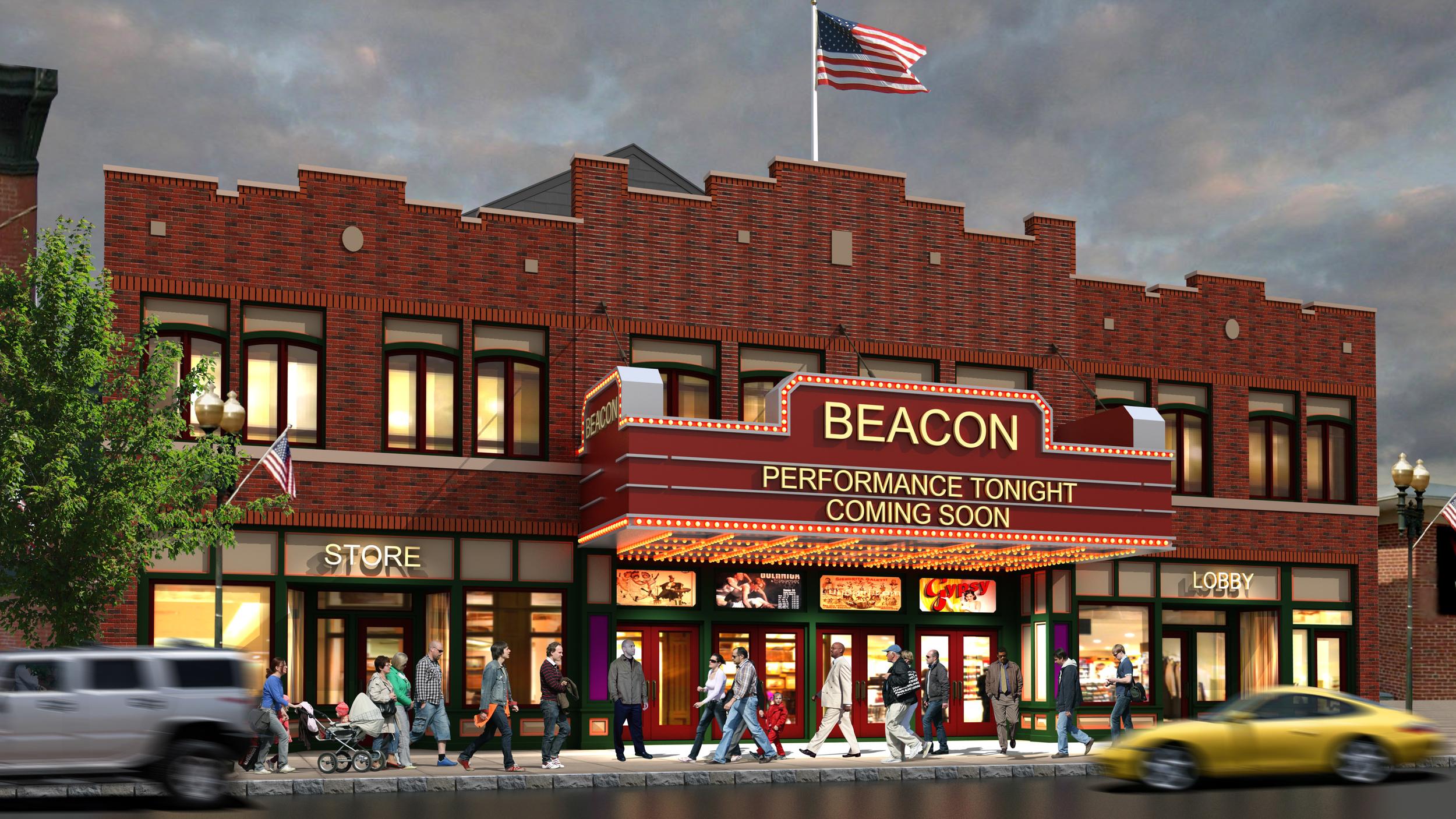 Beacon Theater & Apartments    Beacon, NY