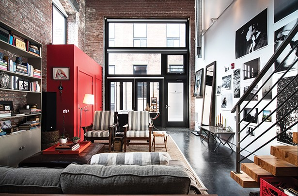Chronogram Article: Robin Rice's Live/Work Loft in Beacon