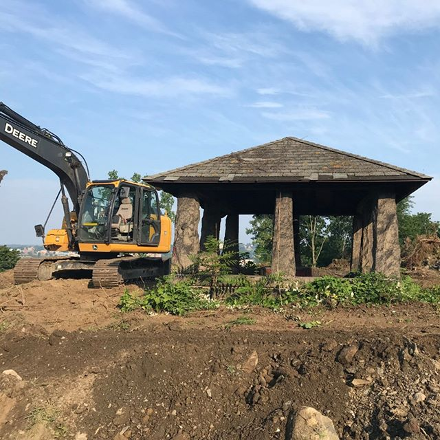 Original Gazebo to be rebuilt at River Ridge project