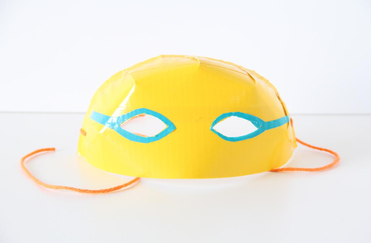 DIY luchador masks