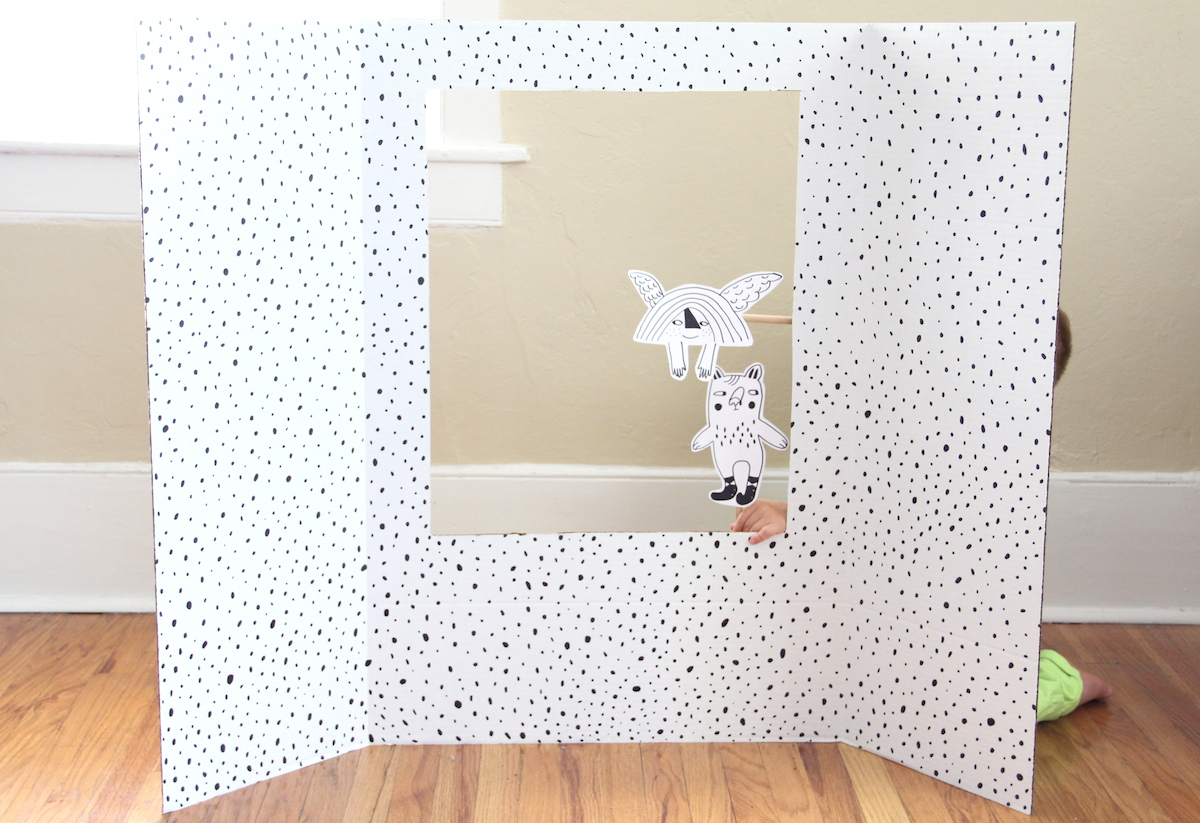 Puppet theater DIY