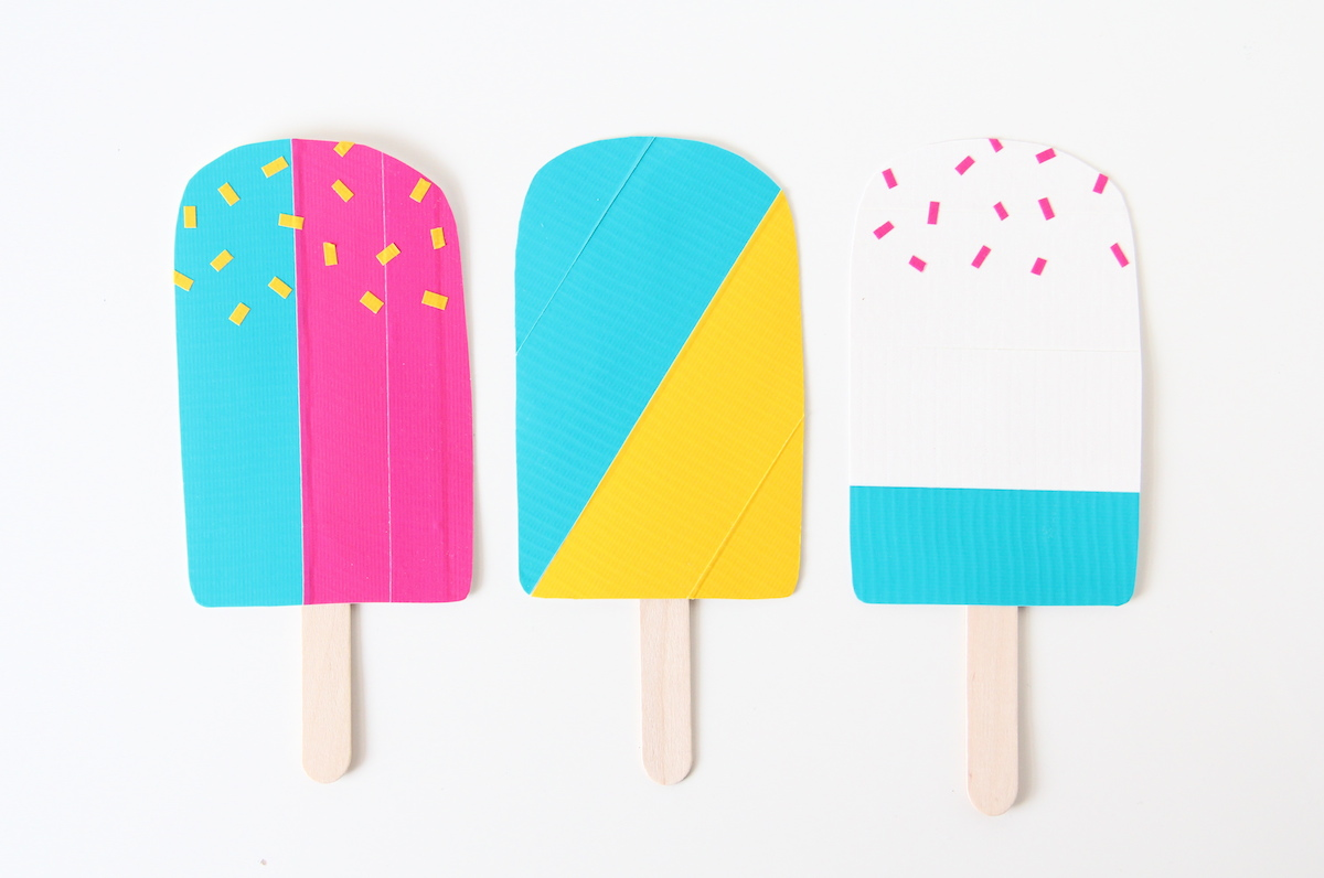 Toy popsicles DIY