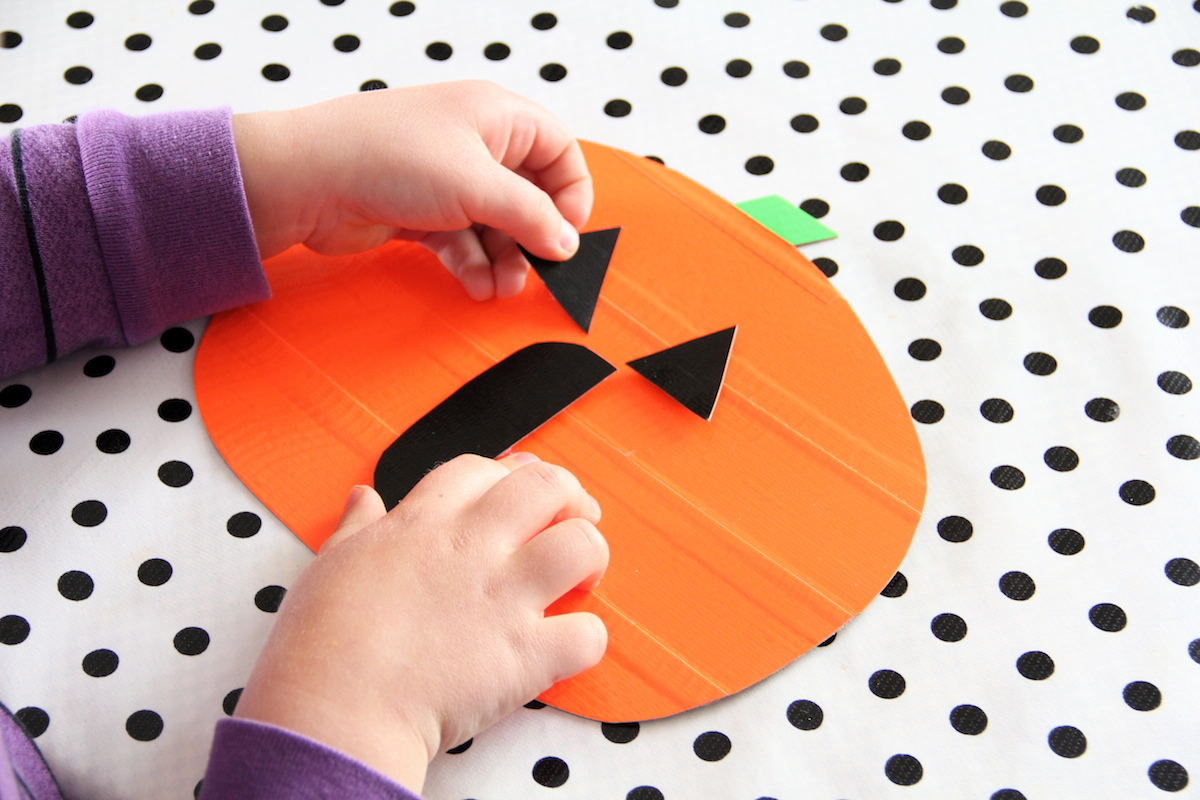 And We Play: Moveable Jack-O-Lantern Toy
