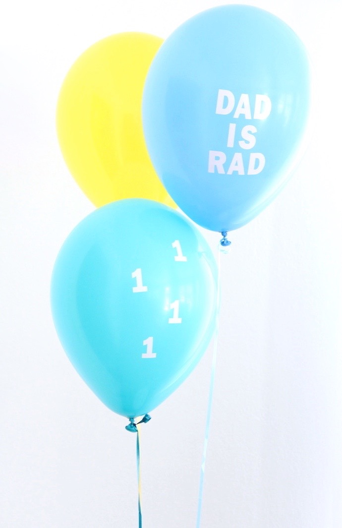 DIY Father's Day balloons! | And We Play