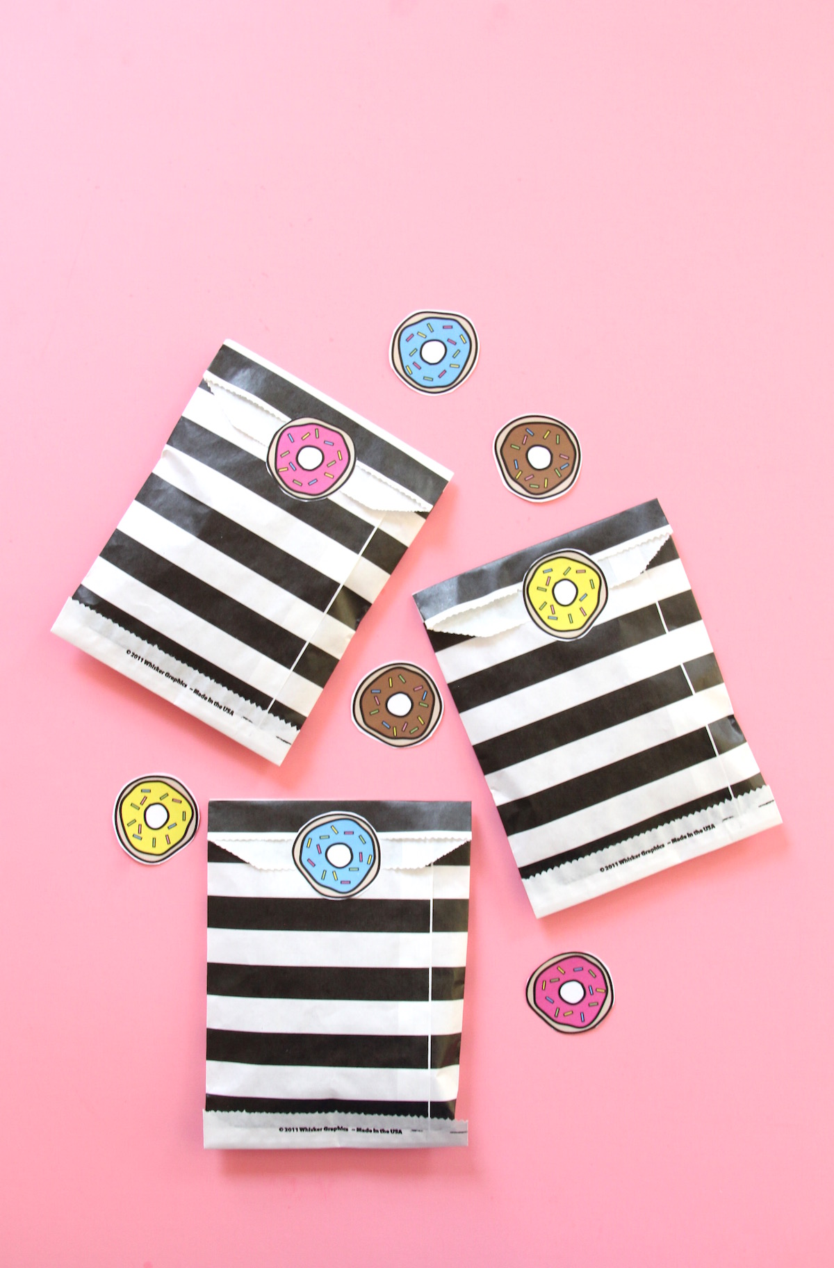 Donut stickers printable | And We Play