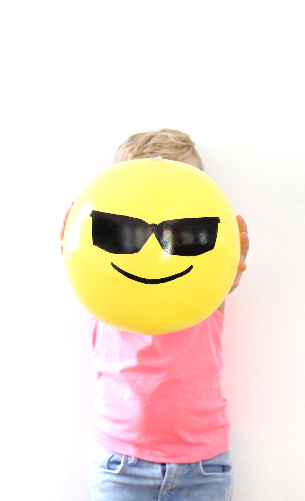DIY emoji beachballs | And We Play