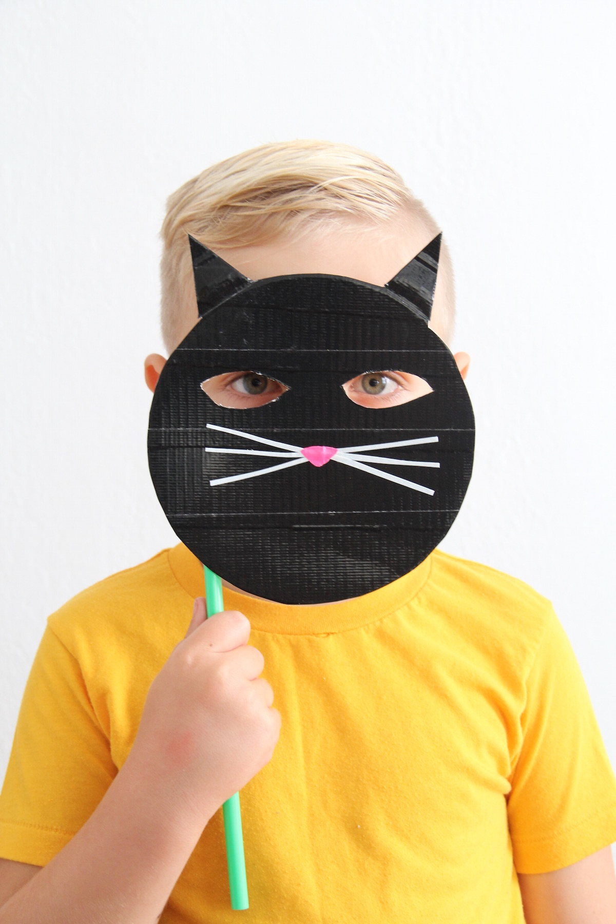 DIY kids cat mask | And We Play