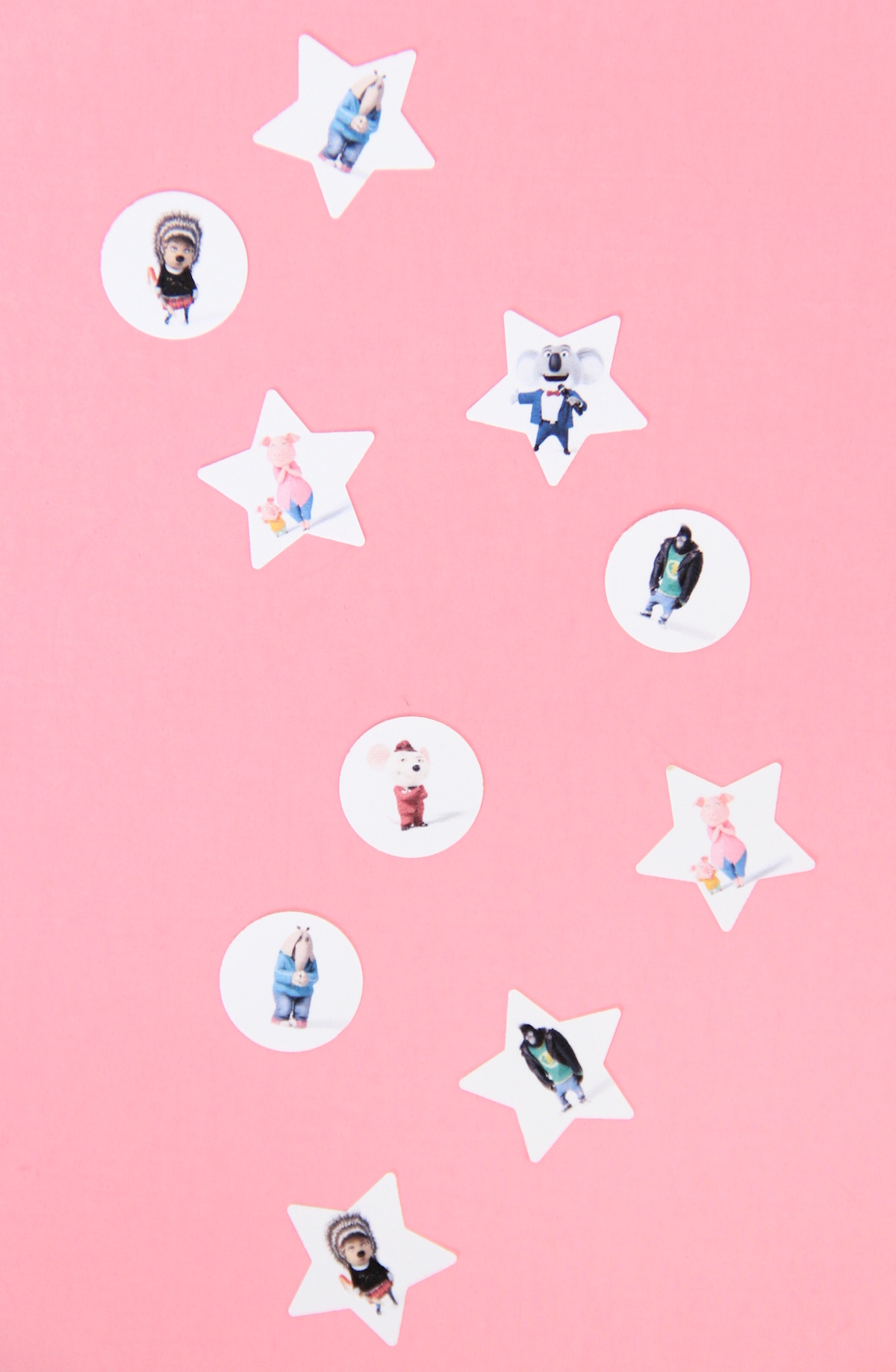 Movie night and DIY character confetti | And We Play