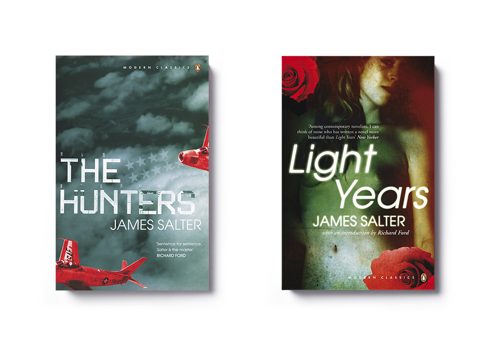 The Hunters Light Years by James Salter - Art Direction: Jim Stoddart Design: Edward Bettison