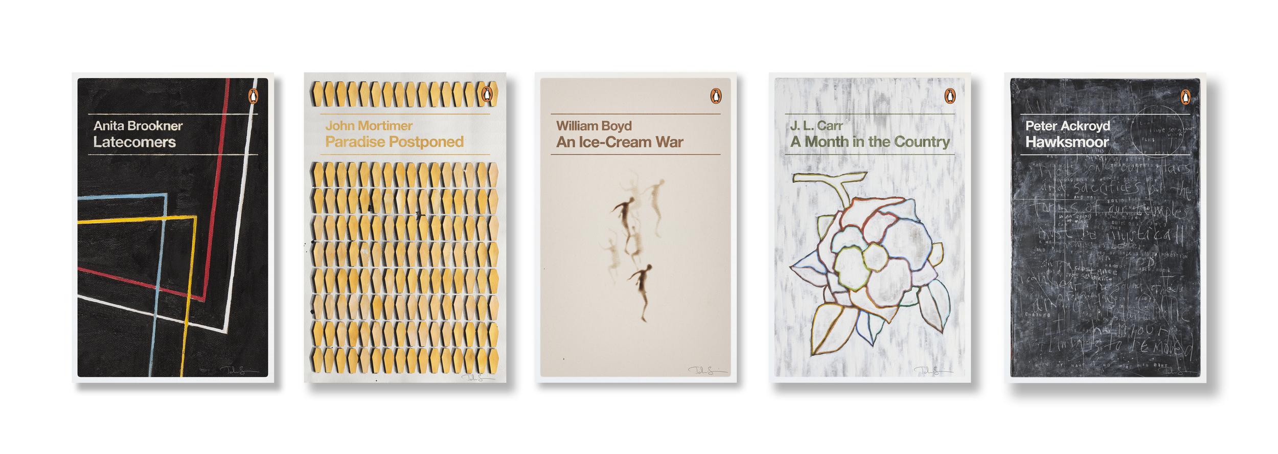 Penguin Decades series - Art: John Squire Design: Jim Stoddart