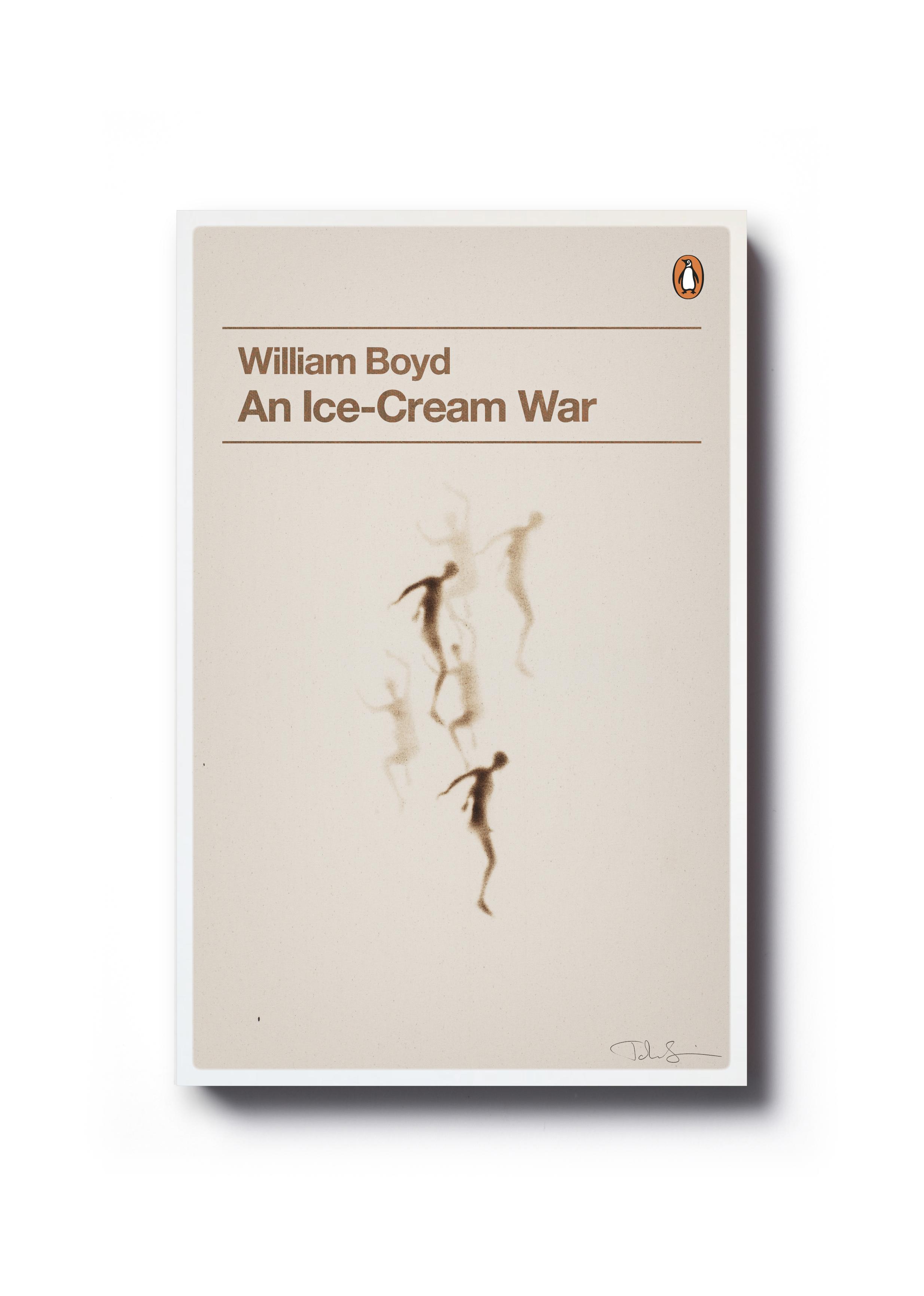 An Ice-Cream War by William Boyd (Penguin Decades series) - Art: John Squire Design: Jim Stoddart