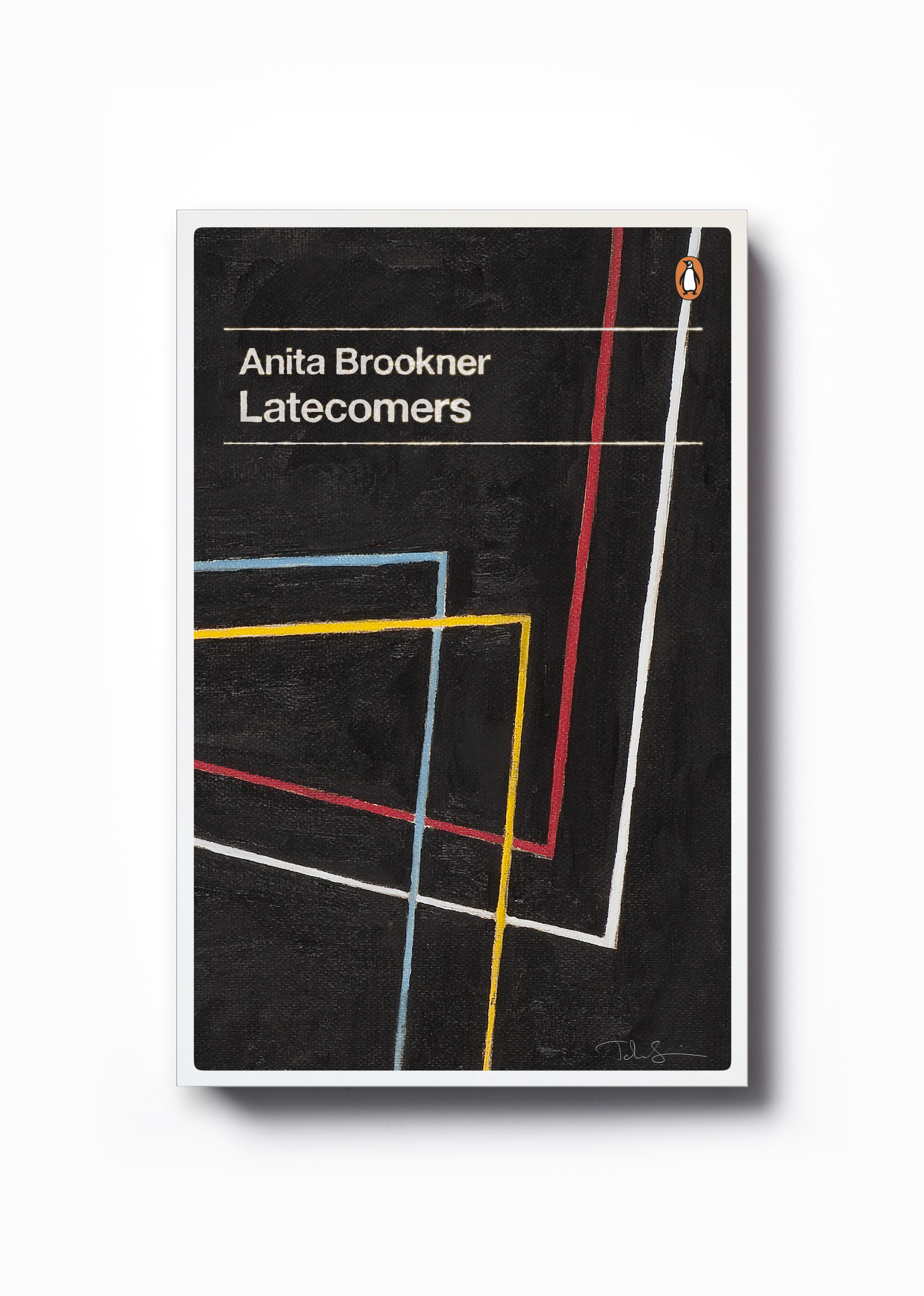 Latecomers by Anita Brookner (Penguin Decades series)  - Art: John Squire Design: Jim Stoddart