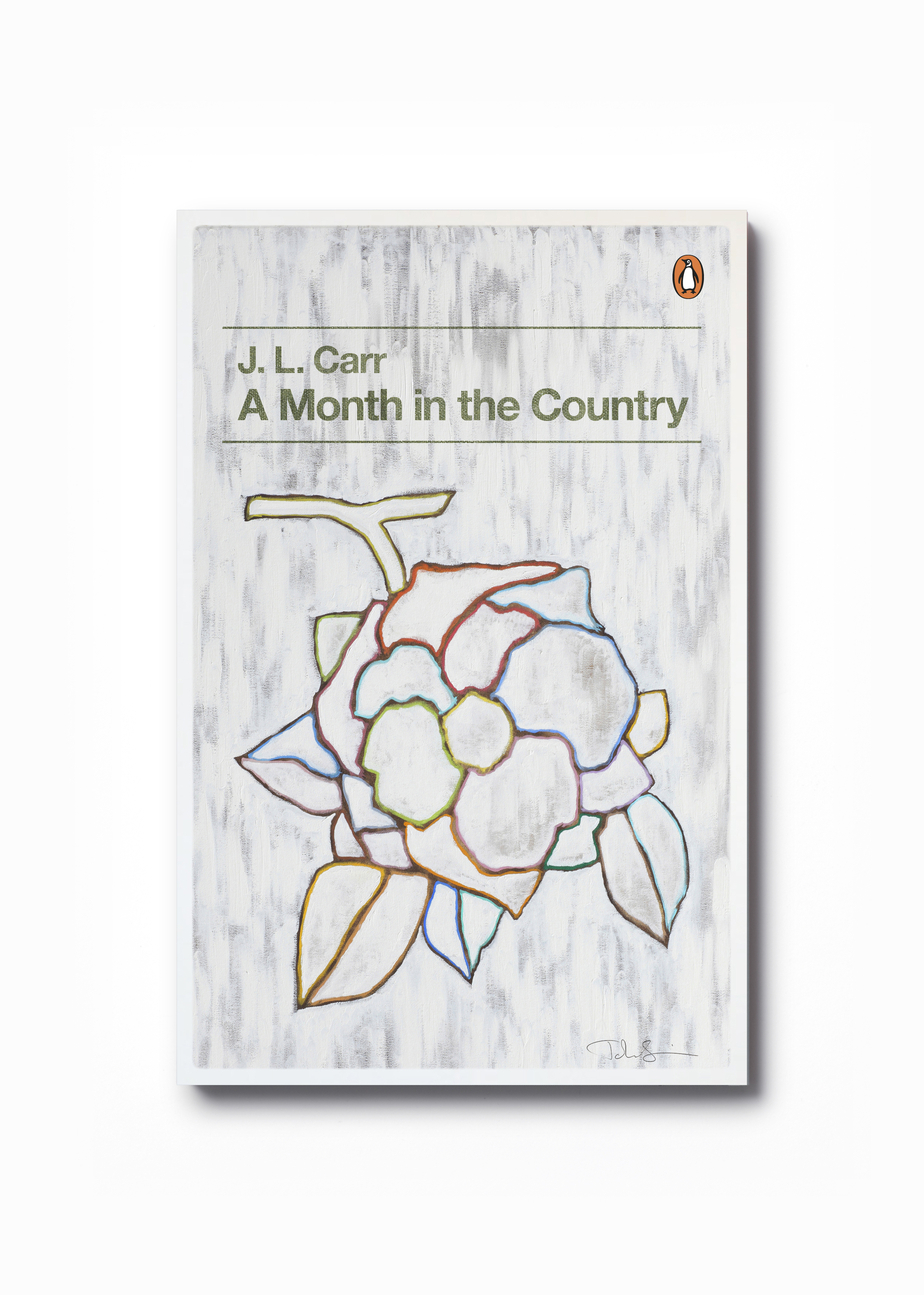 A Month in the Country by J. L. Carr  (Penguin Decades series) - Art: John Squire Design: Jim Stoddart