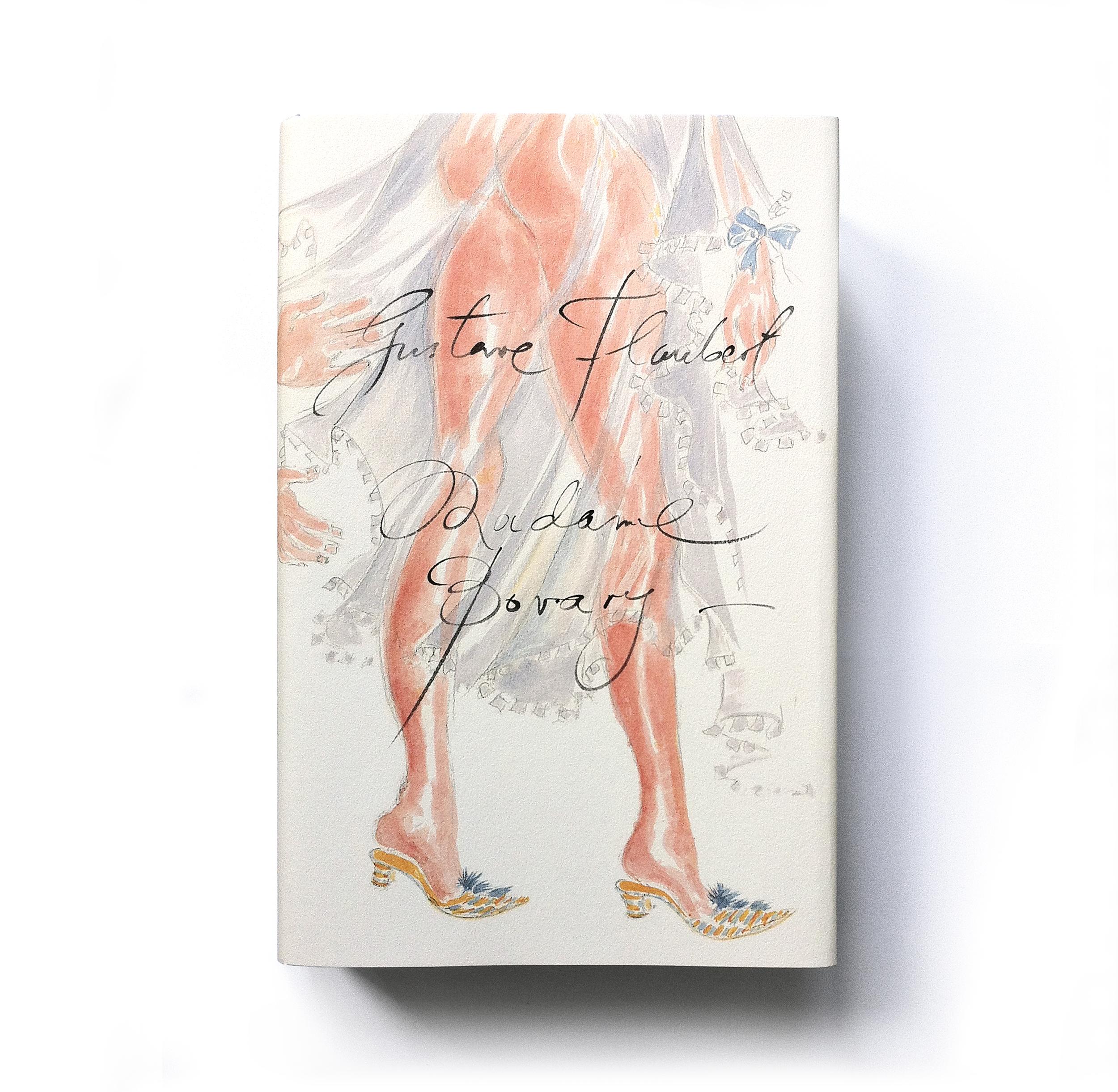 Madame Bovary by Gustave Flaubert (Penguin Classics 60th anniversary hardback) - Art & lettering: Manolo Blahnik Design: Jim Stoddart