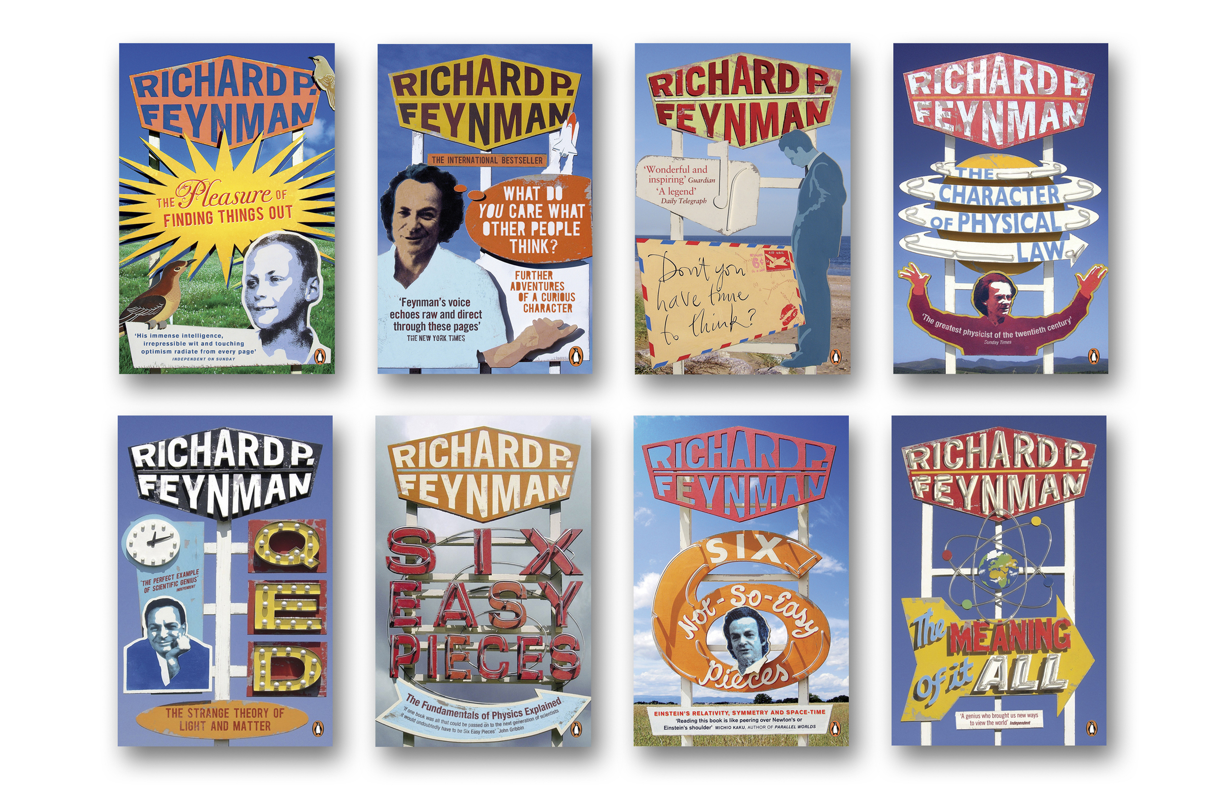 Richard Feynman series - Art Direction & design: Jim Stoddart Model design & construction: Andy Bridge