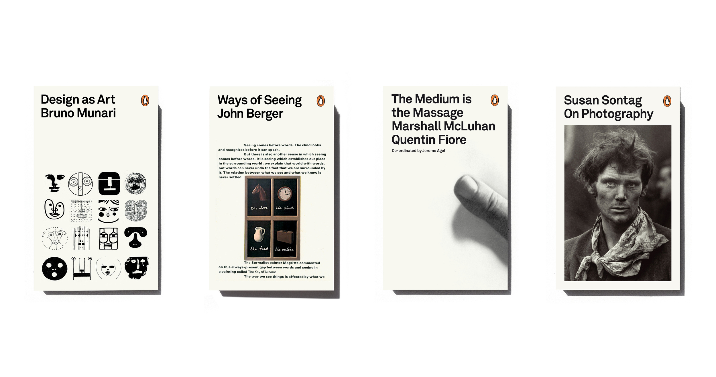 Penguin design series - Art Direction: Jim Stoddart Design: Yes Studio