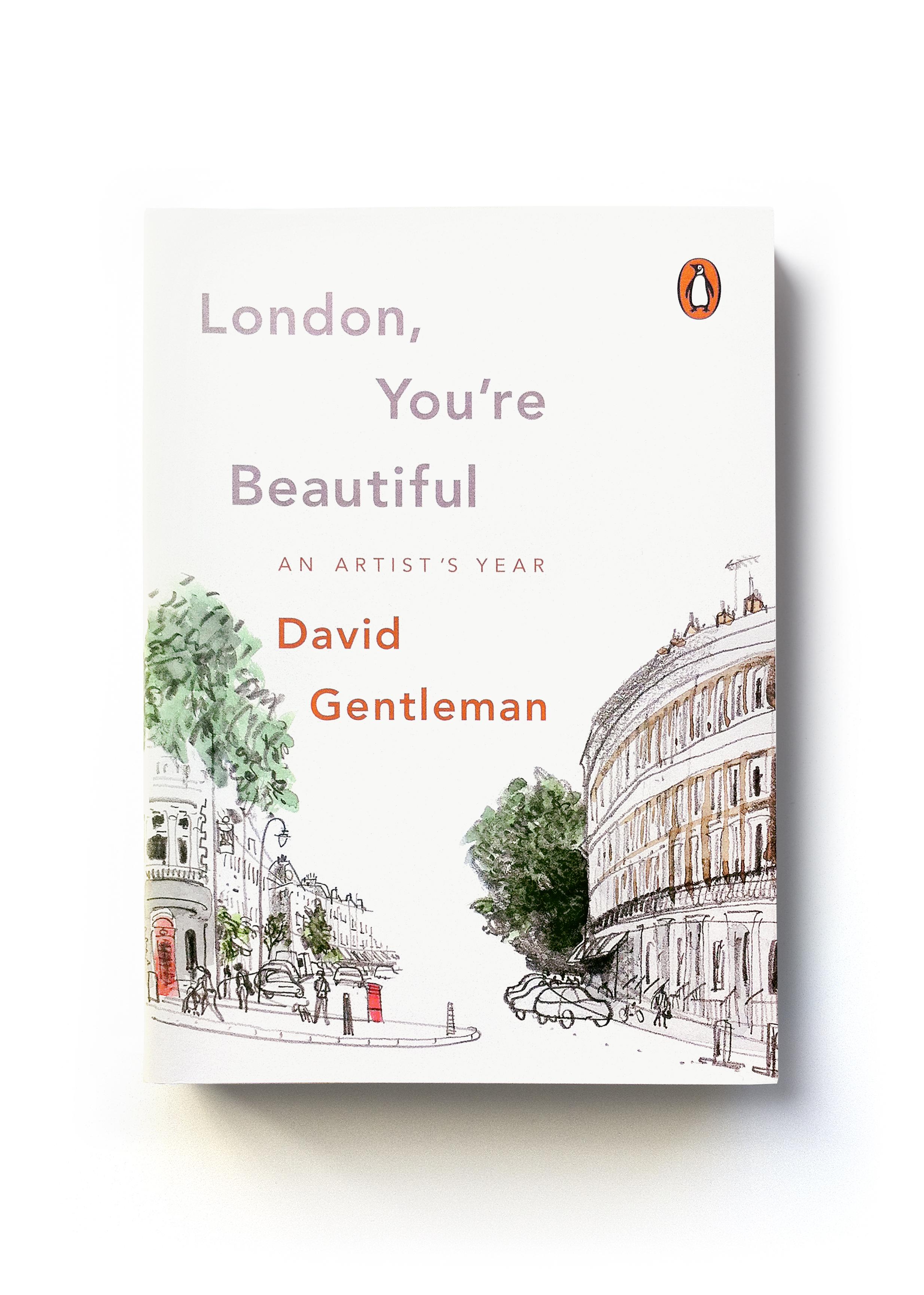 London, You're Beautiful by David Gentleman - Art & words: David Gentleman Art direction: Jim Stoddart