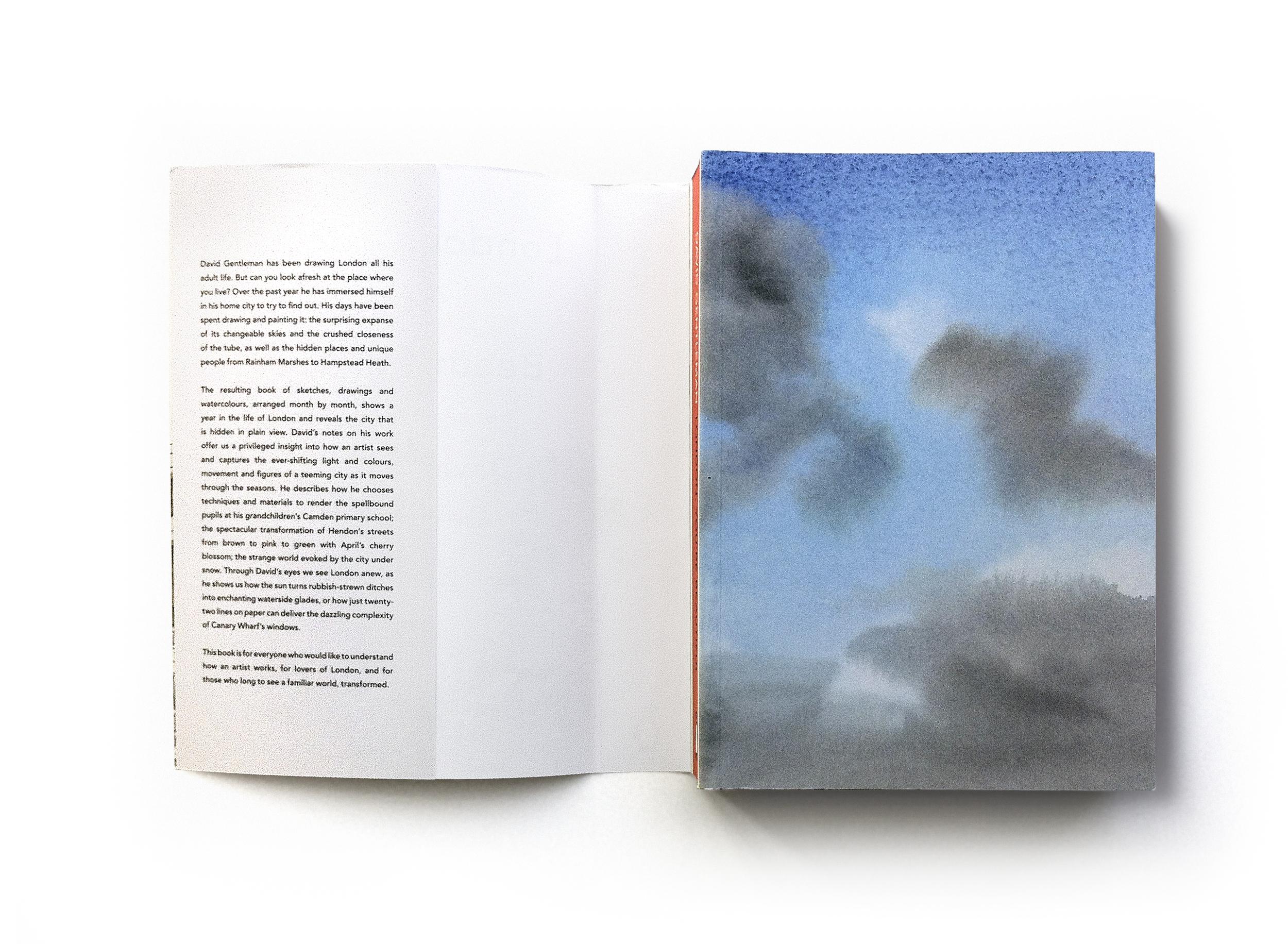 London, You're Beautiful by David Gentleman (Inner cover) - Art & words: David Gentleman Art direction: Jim Stoddart