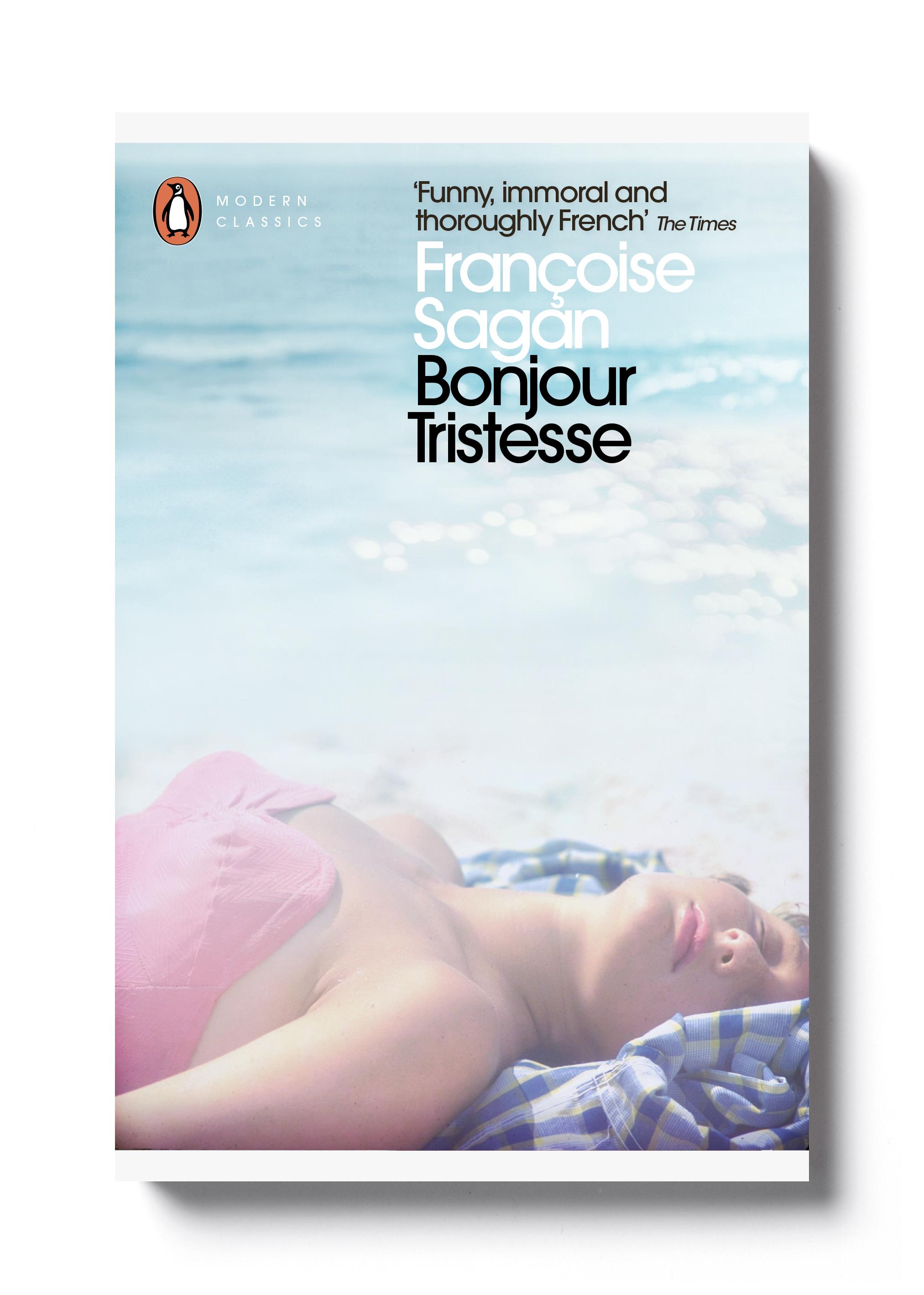 Bonjour Tristesse by Françoise Sagan - Design: Jim Stoddart
