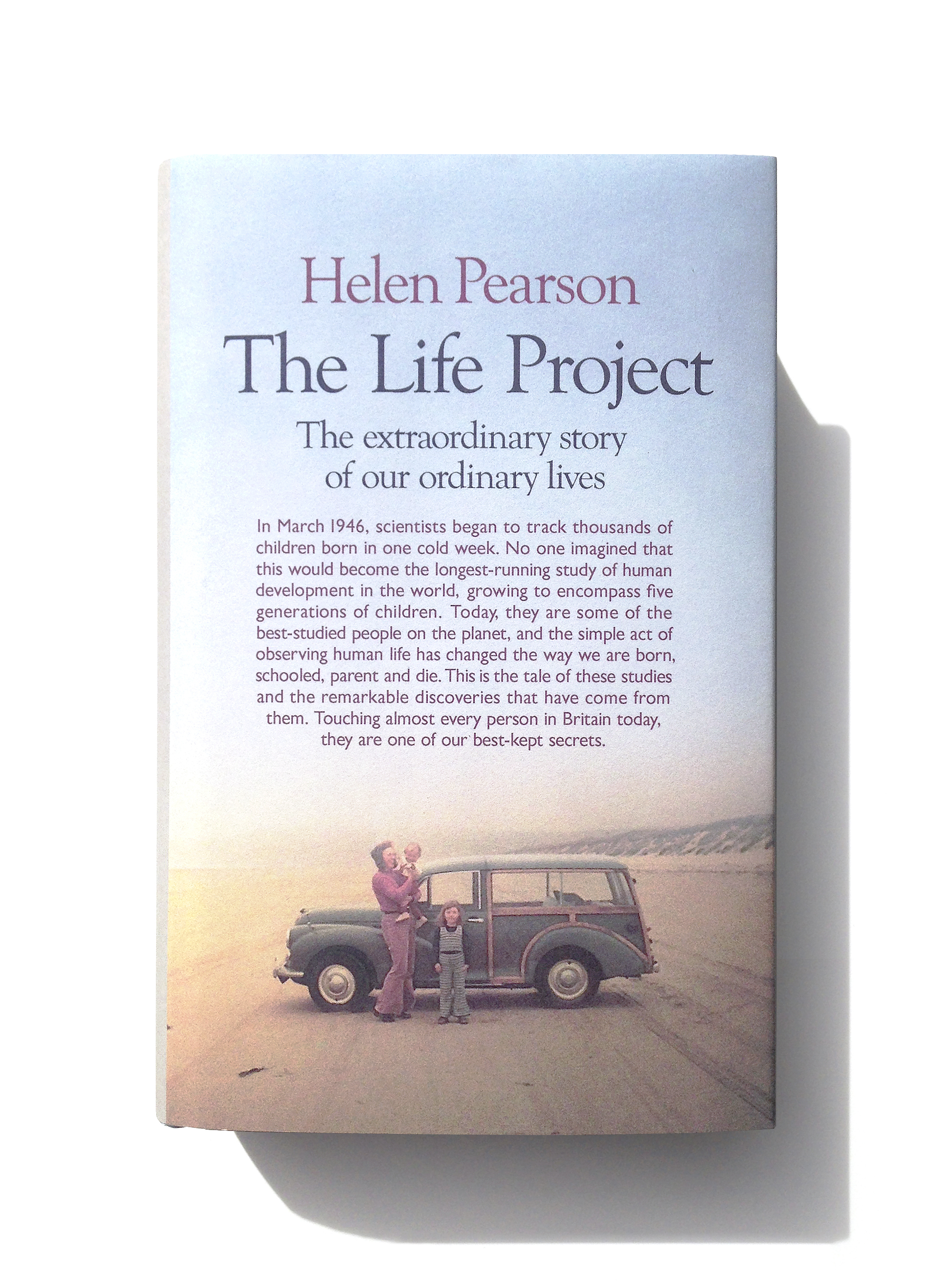 The Life Project by Helen Pearson - Design: Jim Stoddart