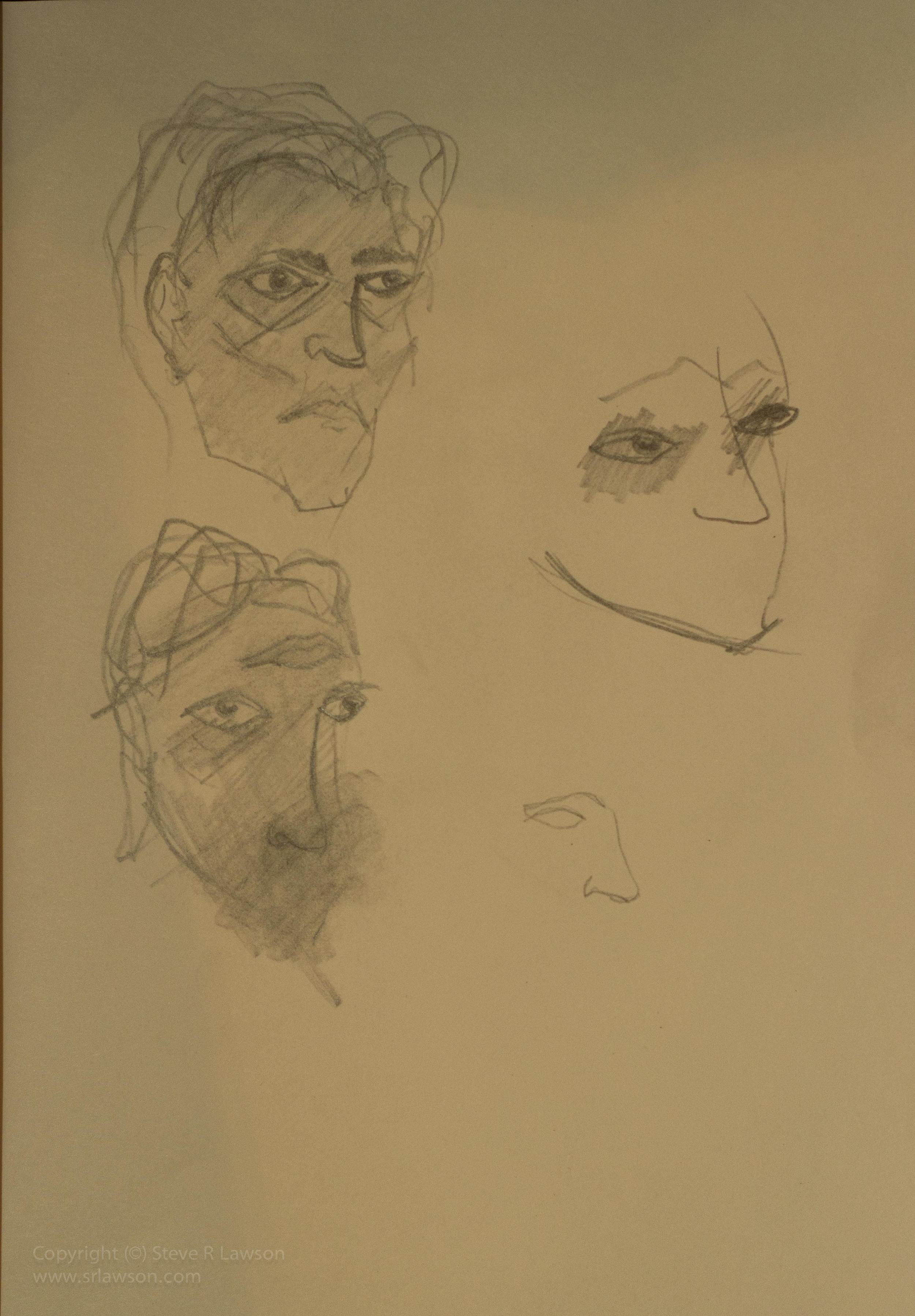 Studies for a Portrait of Edward