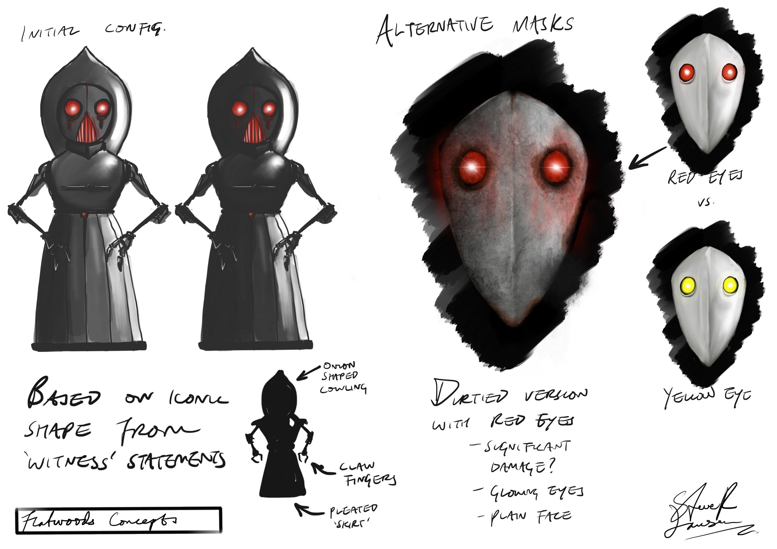 Flatwoods 'Monster' - Creature Concepts