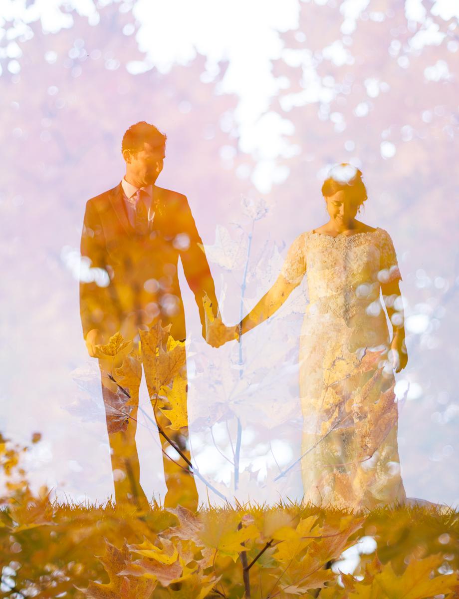weddingdoubleexposure