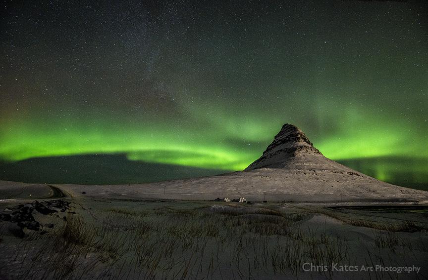 """""""Auroras at Kirkjufell"""""""