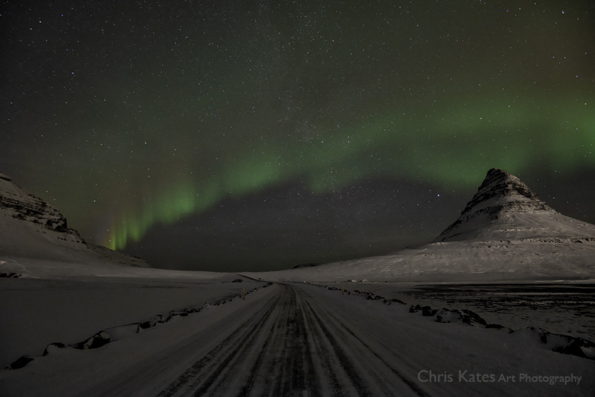 """""""Auroras at Kirkjufel #3"""""""
