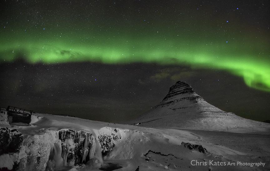 """""""Auroras at Kirkjufell #2"""""""