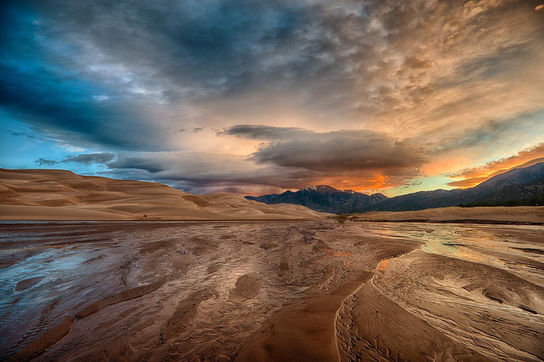 """Sunrise at the Dunes"""