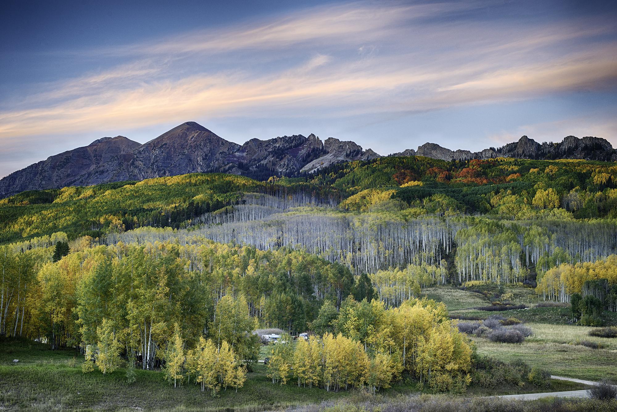 """Kebler Pass in Autumn"""