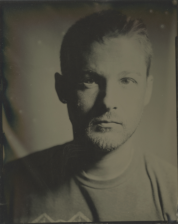 Tintype self portrait