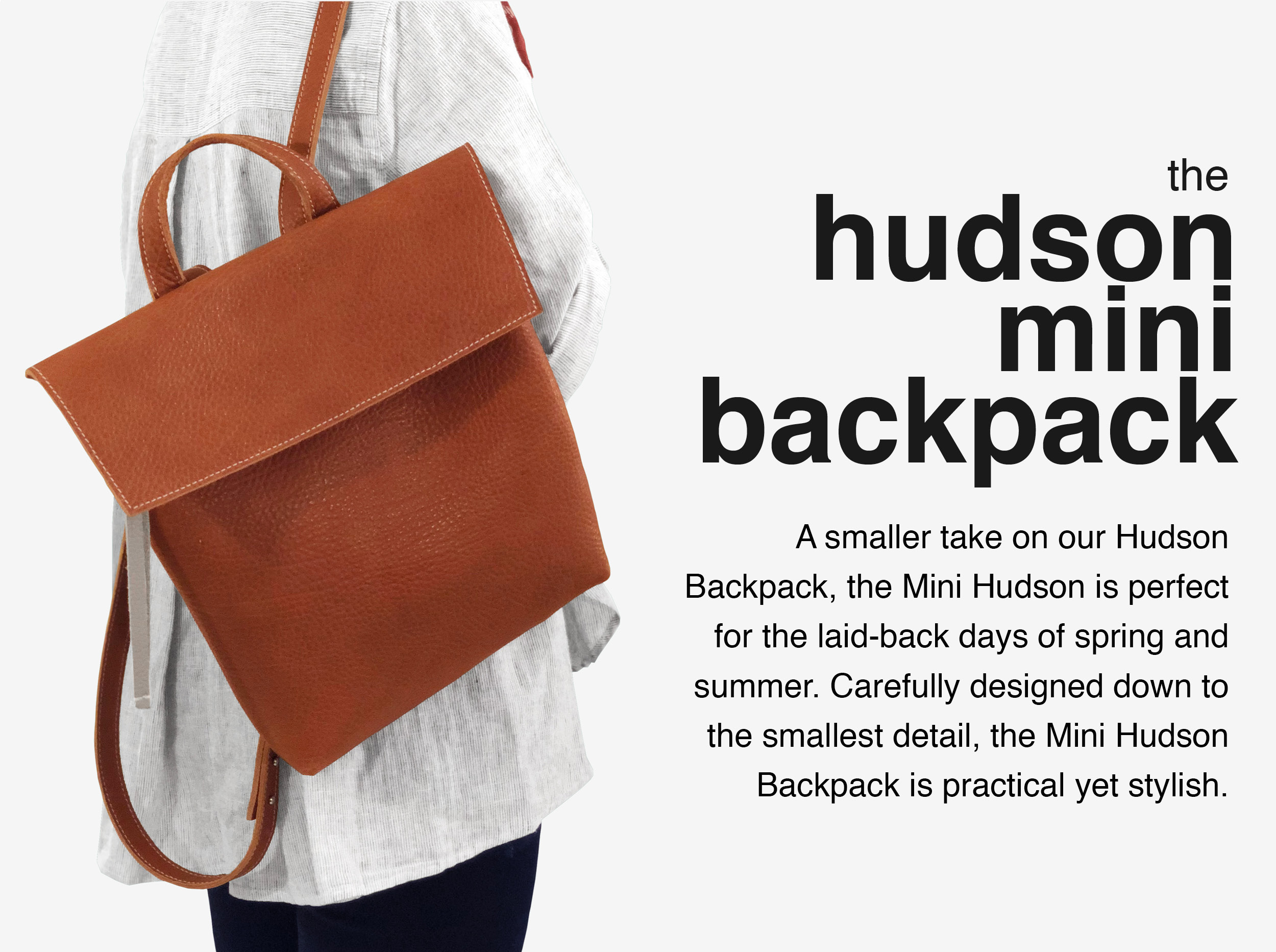 Maria-Castelli-Signature-Collection-Hudson-Mini Backpack